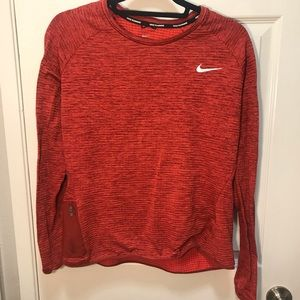 Nike DriFit Work Out Top with Zipped Pocket